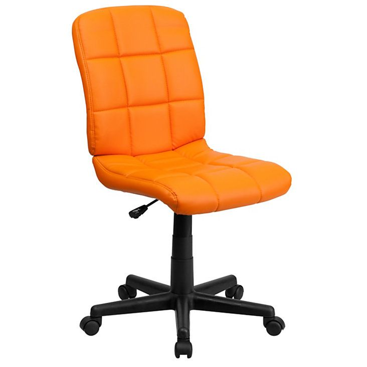 Awesome Flash Furniture Quilted Vinyl Mid Back Swivel Task Chair Download Free Architecture Designs Scobabritishbridgeorg