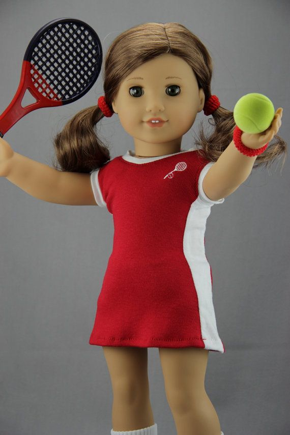 37b0f673a1501 American Girl doll clothes - Tennis dress / tennis outfit (fits 18 ...