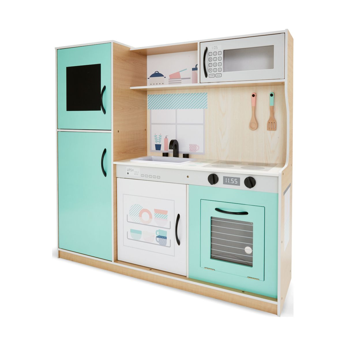 Large Wooden Kitchen Playset | Pinterest | Wooden kitchen and Kitchens