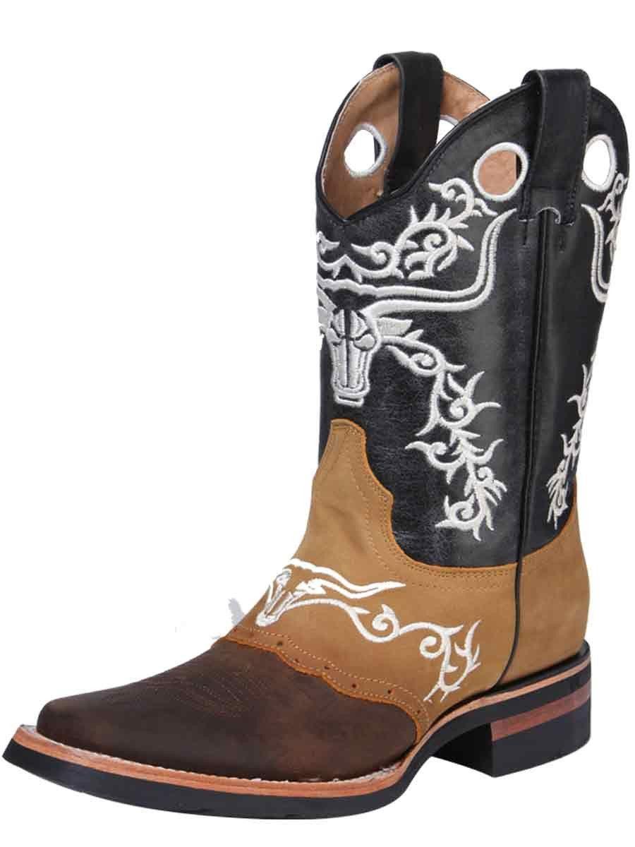 8c404763211c3 33314 Bota Rodeo Caballero El General Square Toe Boots