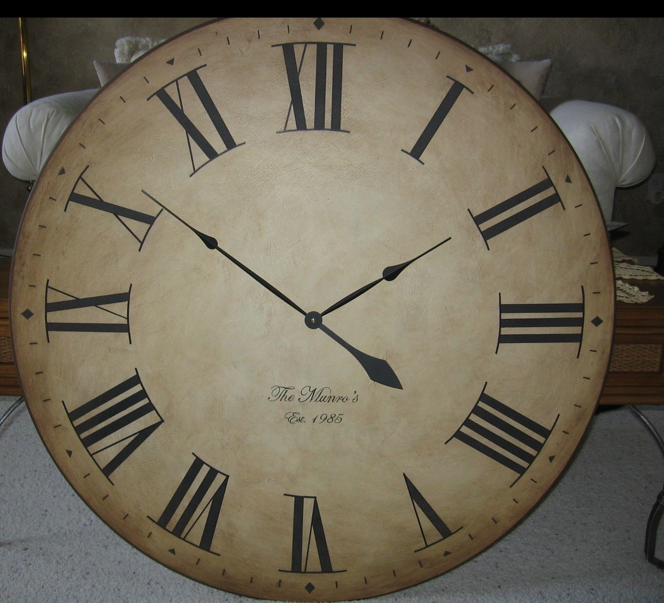 36 Inch Big Wall Clock Large Antique Style Gallery By BigClockShop Living R