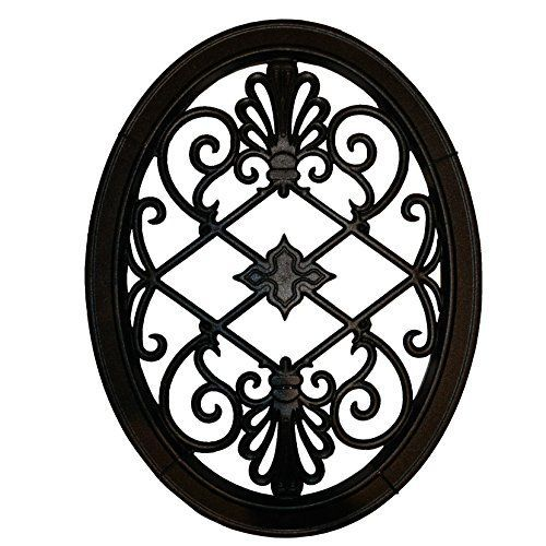 Nuvo Iron OVAL DECORATIVE GATE FENCE INSERT ACW56 Fencing