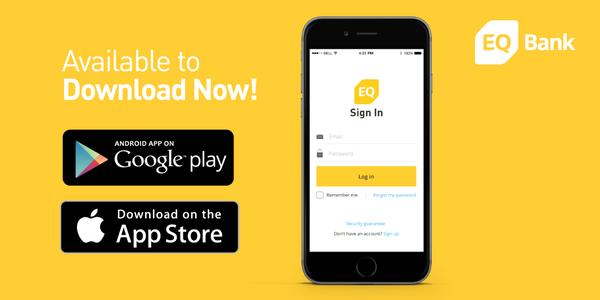 תוצאת תמונה עבור eq bank Google play, App, Android