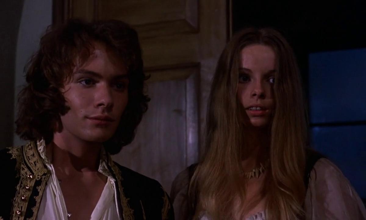 Vampire Circus (1972) Robin Sachs and Lala Ward | Hammer horror films, Vampire  circus, Robin sachs