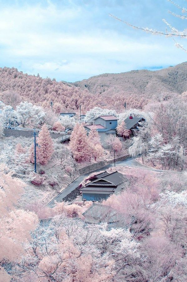 The most beautiful places in the world to get married | Mount Yoshino, Japan