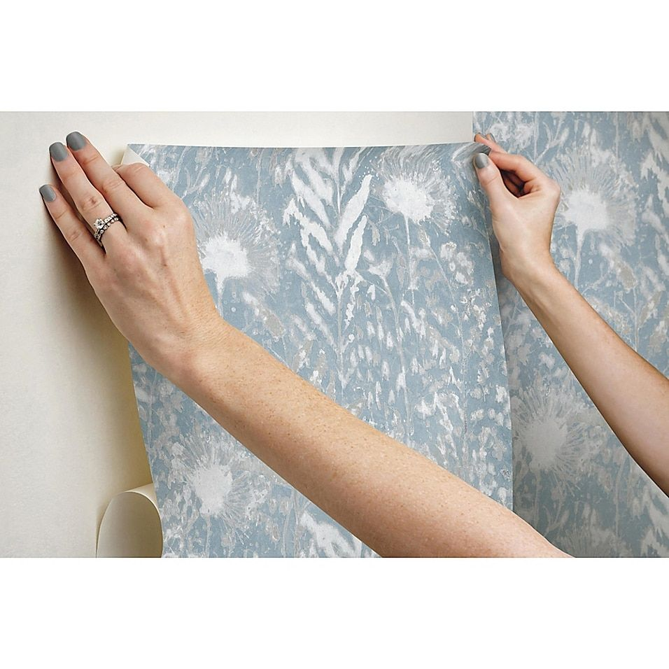 Roommates Peel Stick Dandelion Wallpaper Bed Bath Beyond Dandelion Wallpaper Peel And Stick Wallpaper Wall Decor Decals