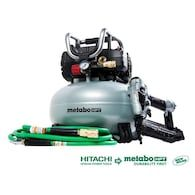 Metabo Hpt Was Hitachi Power Tools 6 Gallon Single Stage Portable Electric Pancake Air Compressor 1 Tools Included Lowes Com Pancake Air Compressor Air Compressor Compressor
