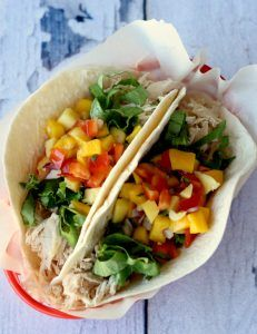 Crockpot Chicken Tacos Recipe! {Taco Tuesday Everyday} - The Frugal Girls #tacotuesdayrecipes