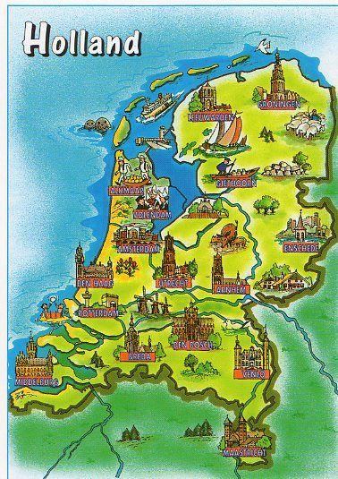 mapsontheweb: The Netherlands / Holland / Nederland | Fun ... Cutedutch Nl