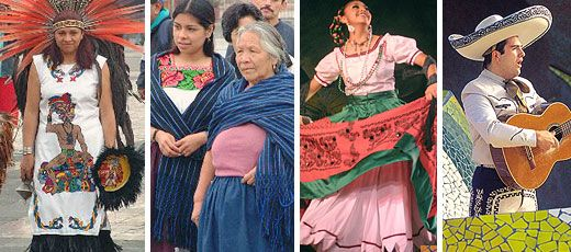 Traditional Mexican Clothing Mexican Clothes Were
