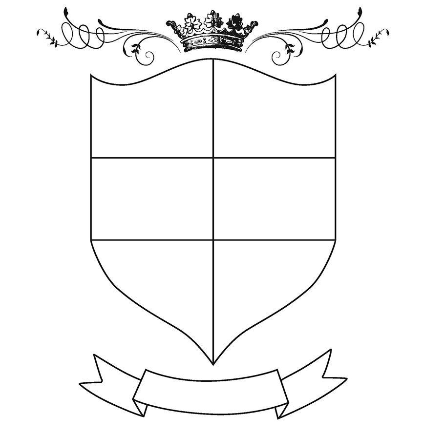 Escudo De Armas De La Historia Y El Presente Personal Y Familiar Propio Escudo De Armas Escudo De Armas De Rusia Moderna Adventure Book Lettering Activities
