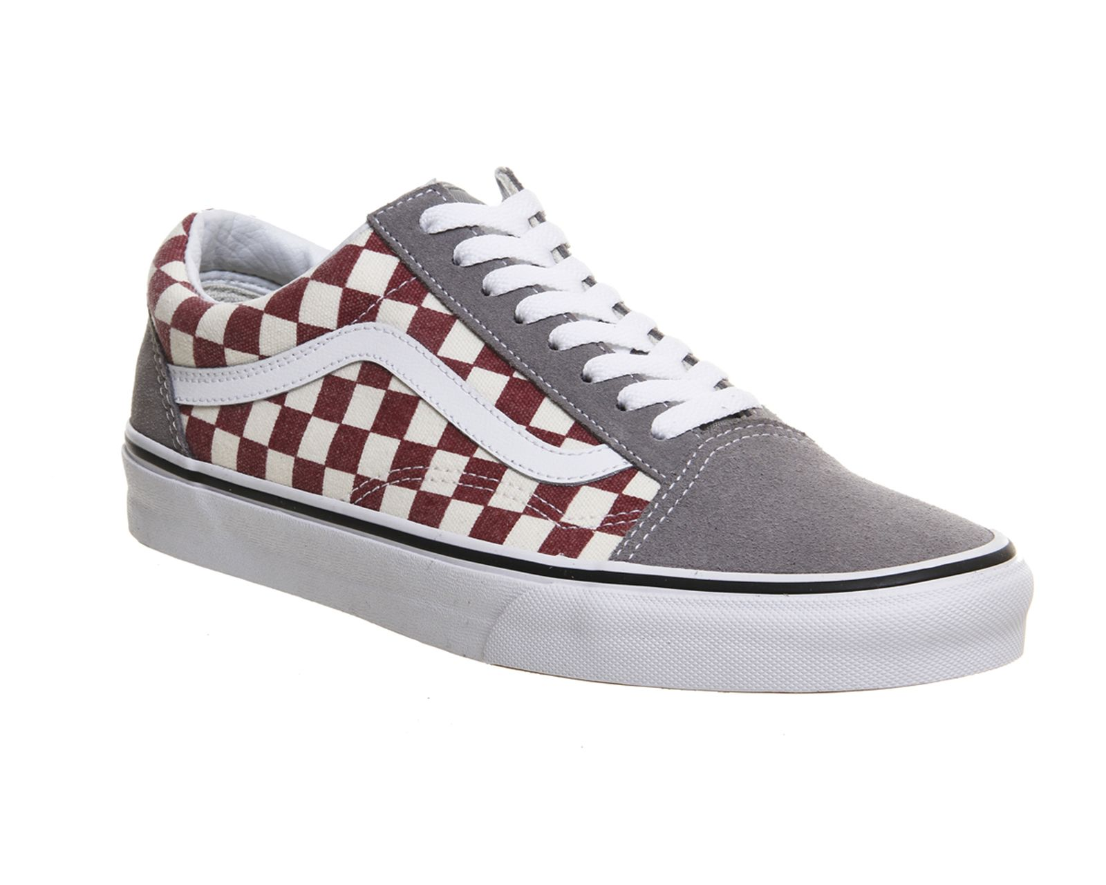 3e47c7de Image result for GREY RED CHECKERED VANS | Shoes | Shoes, Vans shoes ...