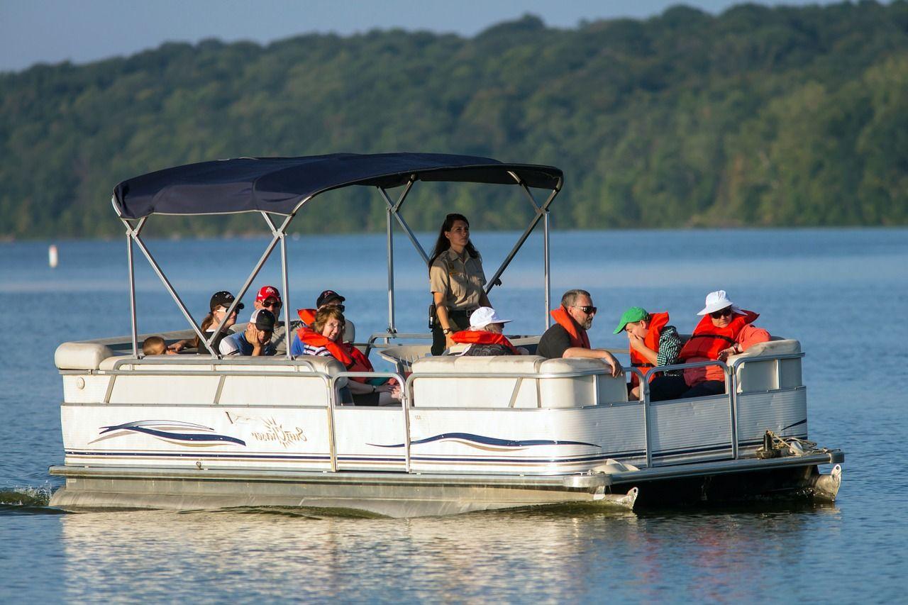 Boat pontoon boats boating summer pontoon ponto boat
