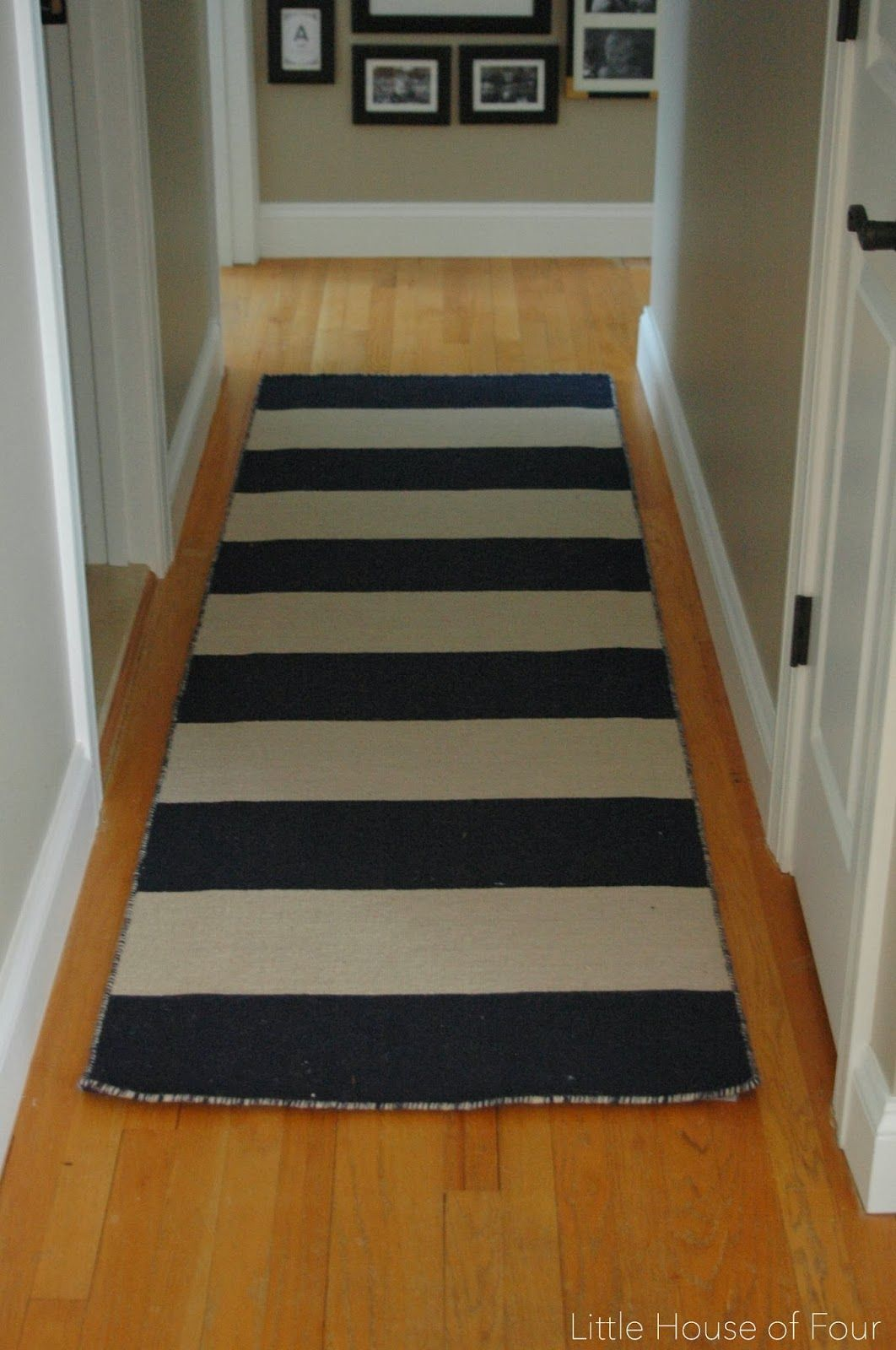 New Hallway Rug And Gallery Wall.