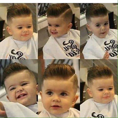 Varios peinados peinados bebe niño Imagen de cortes de pelo Ideas - Pin en baby