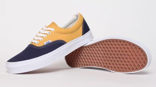 663a0c111867c2 Vans Era - Yellow   Blue