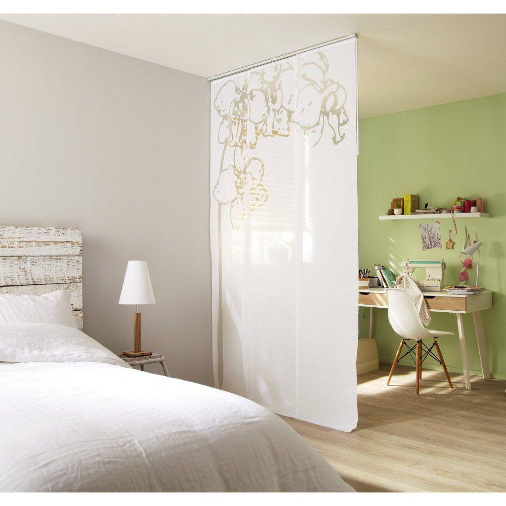 diviser une chambre en deux espaces comment faire cloisons mari es et bureau. Black Bedroom Furniture Sets. Home Design Ideas