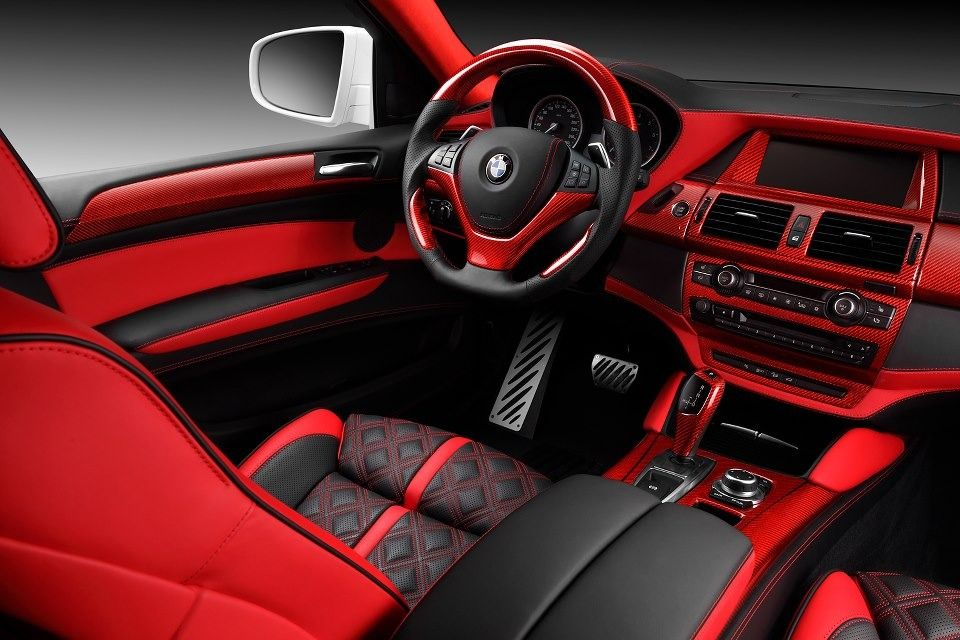 bmw x6 red interior by topcar 2 favorite cars pinterest bmw x6 red interiors and bmw. Black Bedroom Furniture Sets. Home Design Ideas