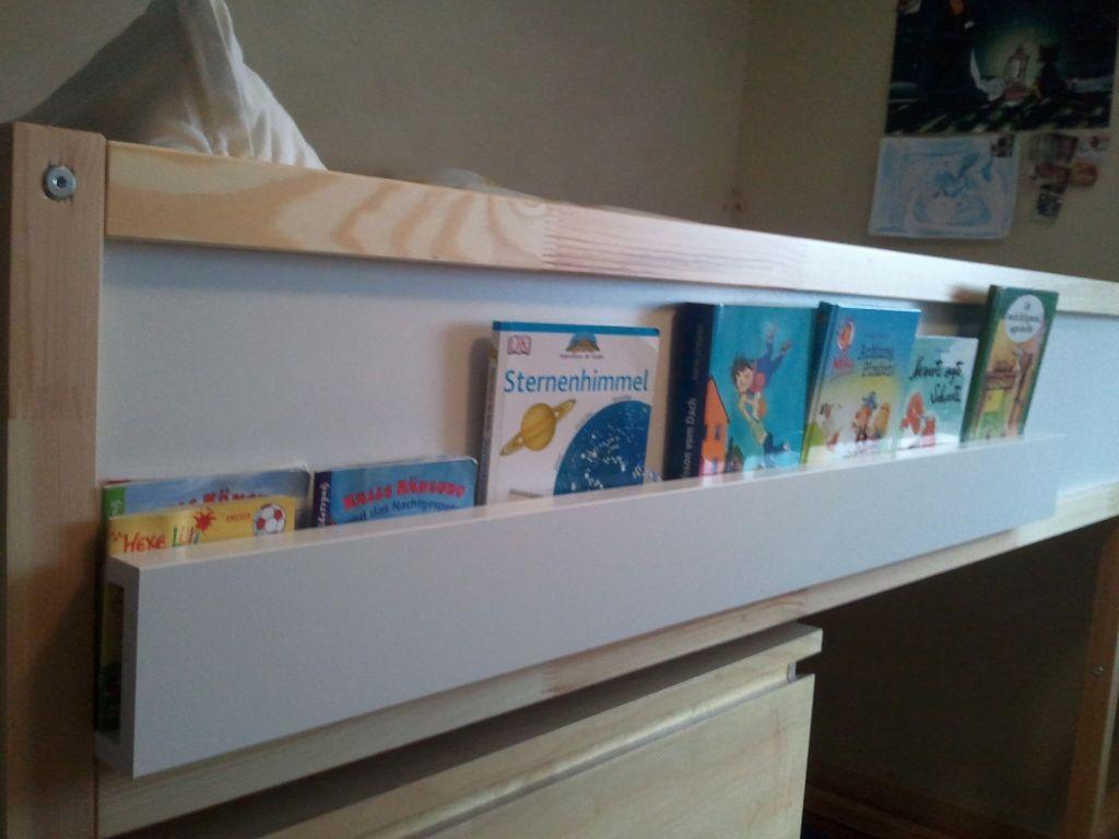 B cheraufbewahrung am hochbett kinderzimmer hacks for Kinderzimmer hacks