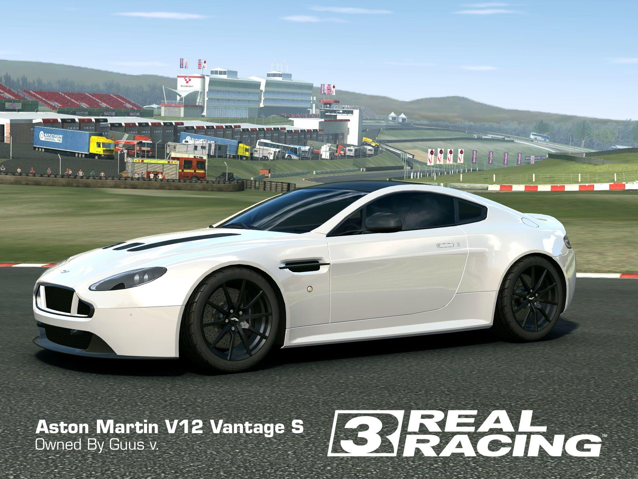 aston martin v12 vantage s   my real racing 3 cars   pinterest