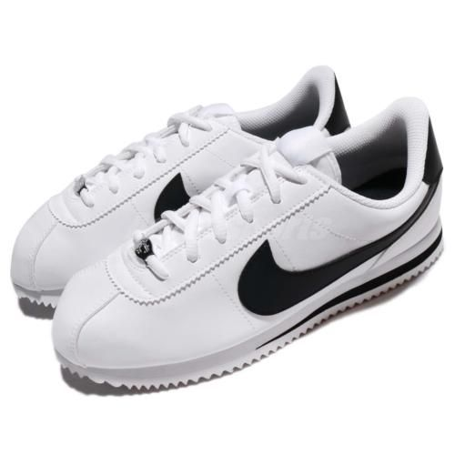 size 40 48d21 76fd3 Nike-Cortez-Basic-SL-GS-Classic-White-Black-Kids-Women-Shoes-Sneakers-904764-102  womenshoessneakers
