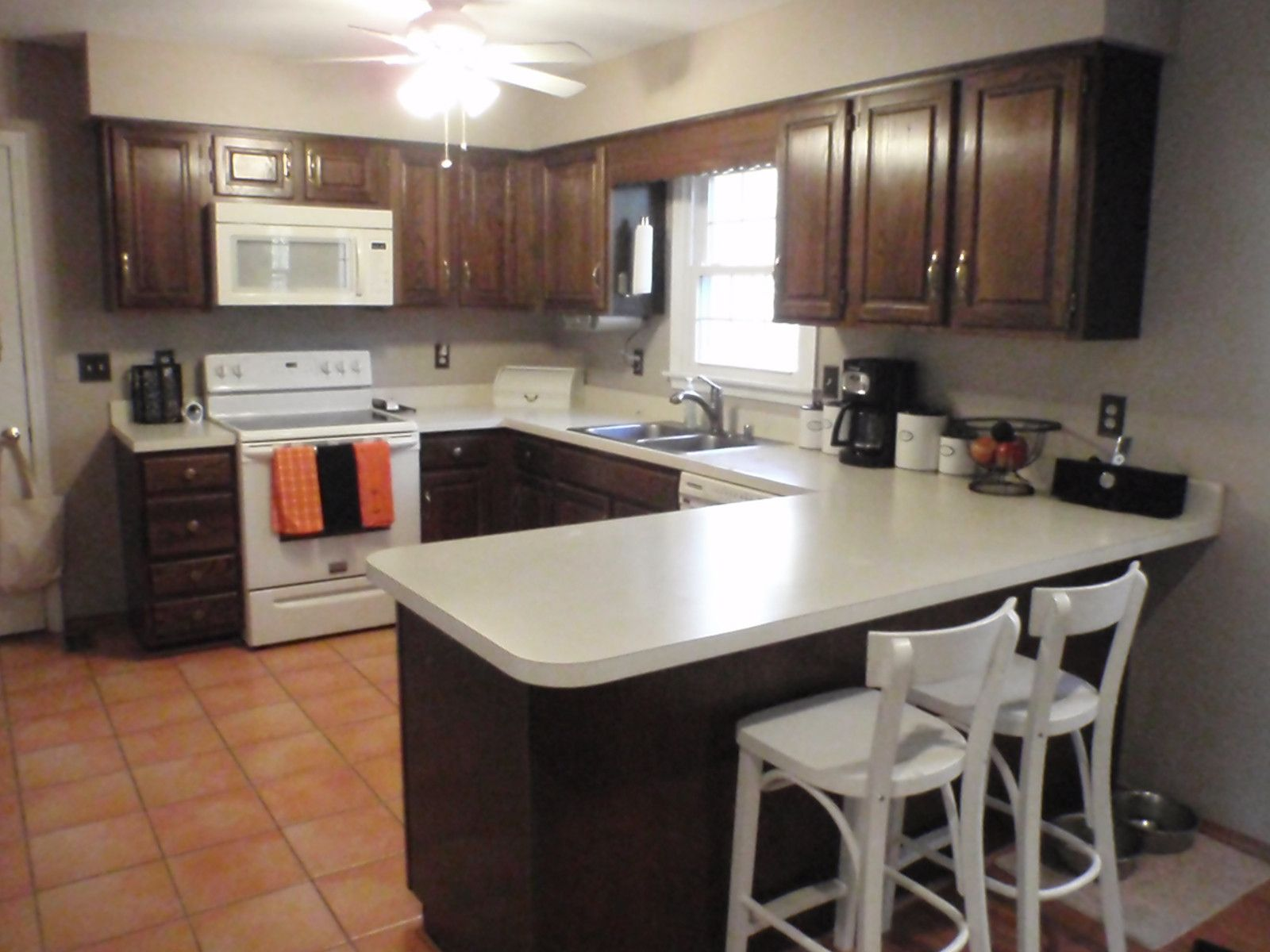 Inspirational Kitchen Paint Colors with Brown Cabinets ...