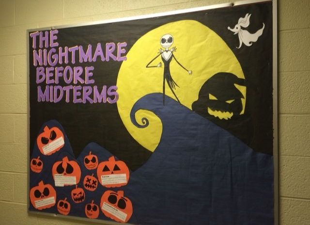 Nightmare Before Christmas Bulletin Board Bulletin Board