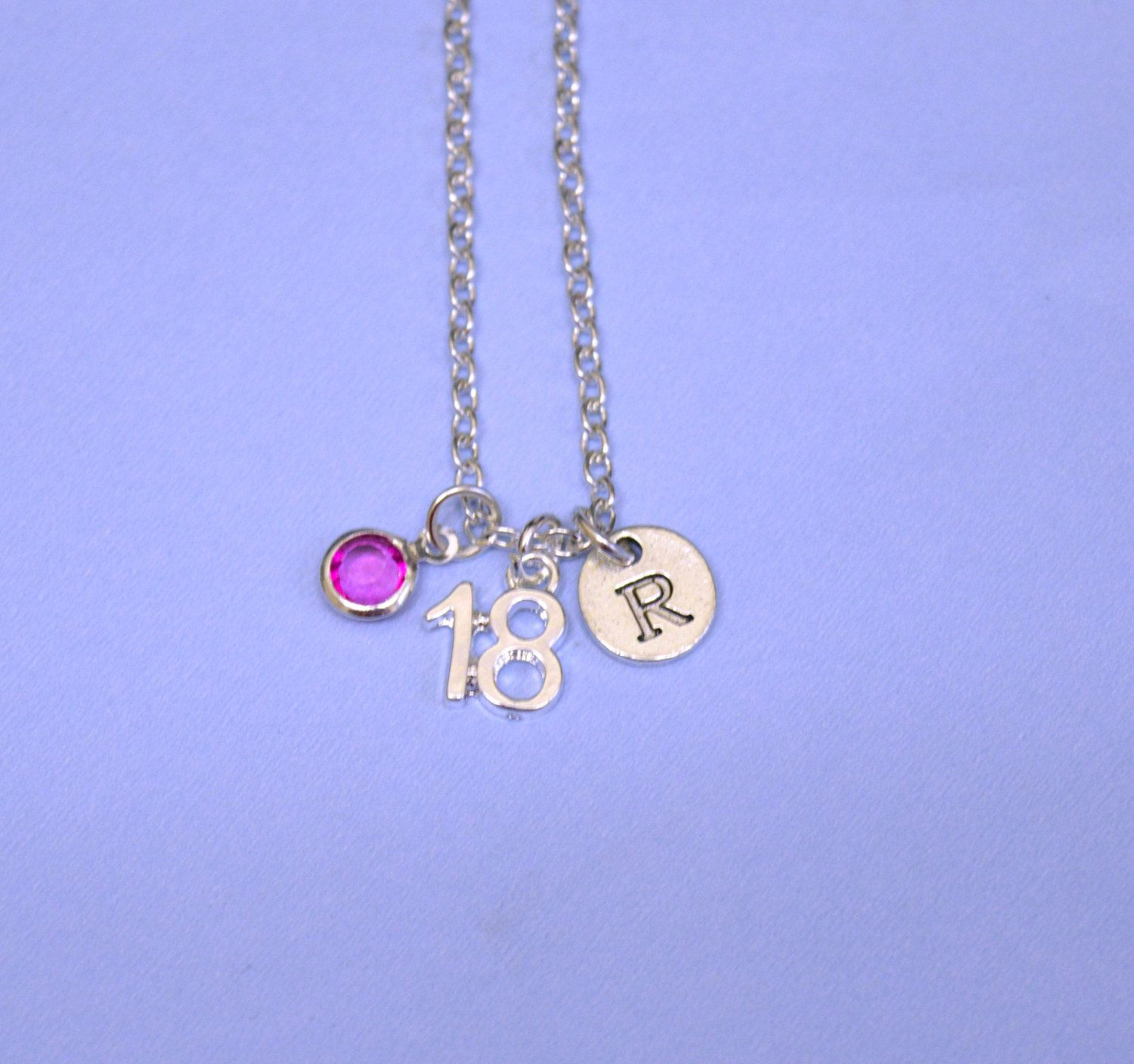 18th Birthday Gift, 18th Birthday Necklace Jewelry