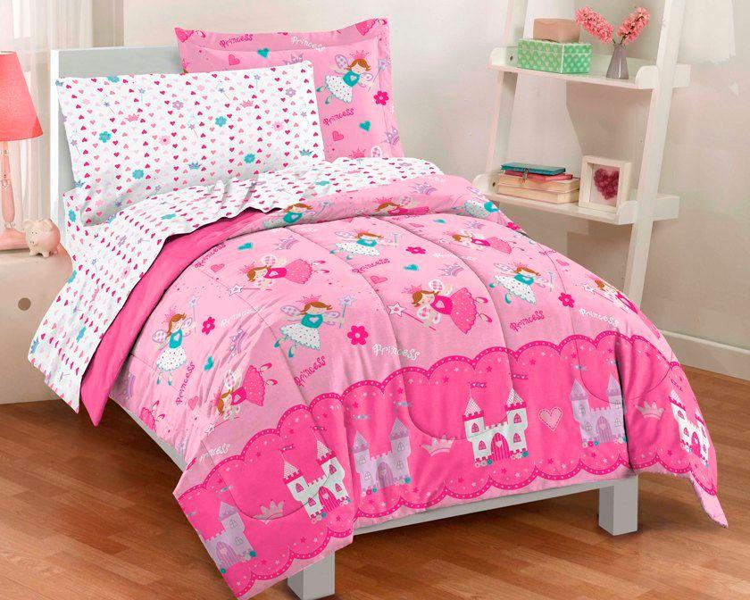princess fairy bedding for little girls