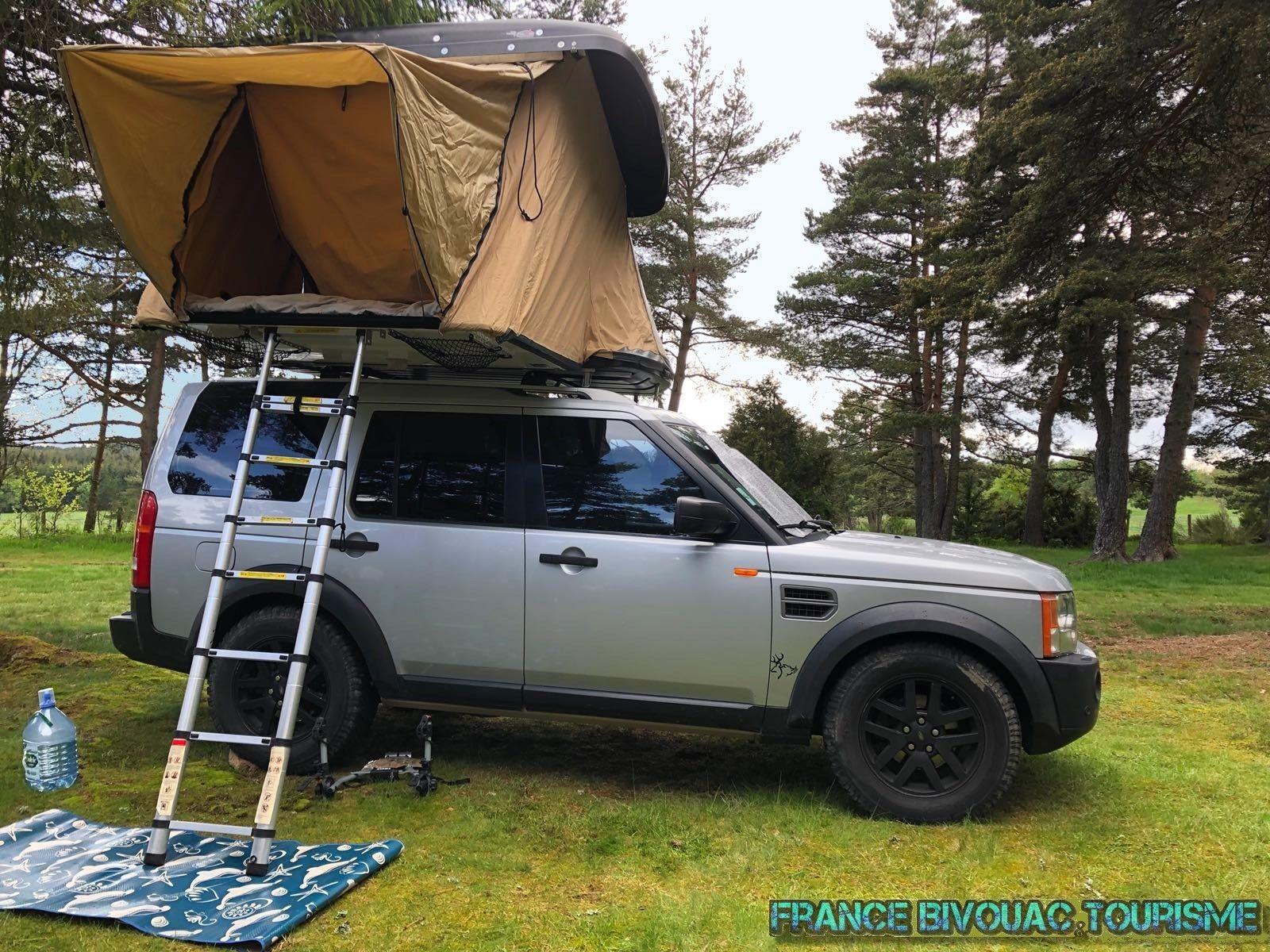 camper en tente vers cadaques