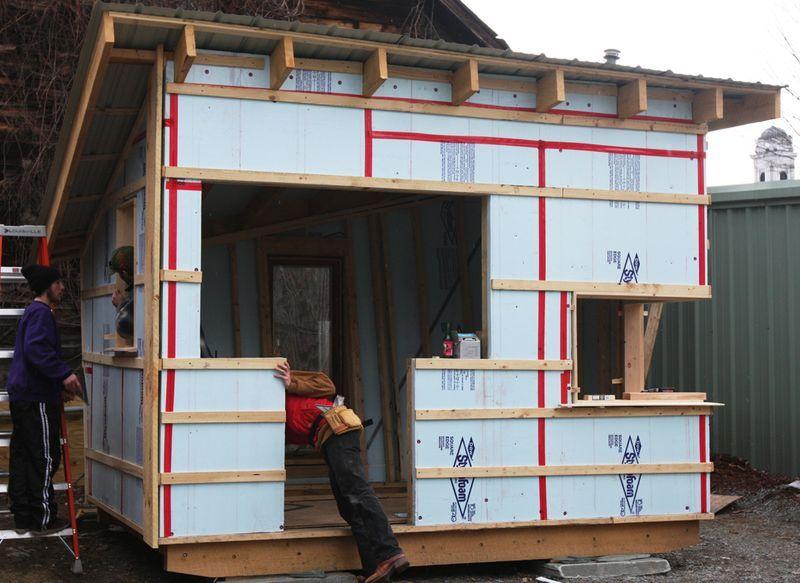 How To Build A Tiny House Building A Tiny House Tiny
