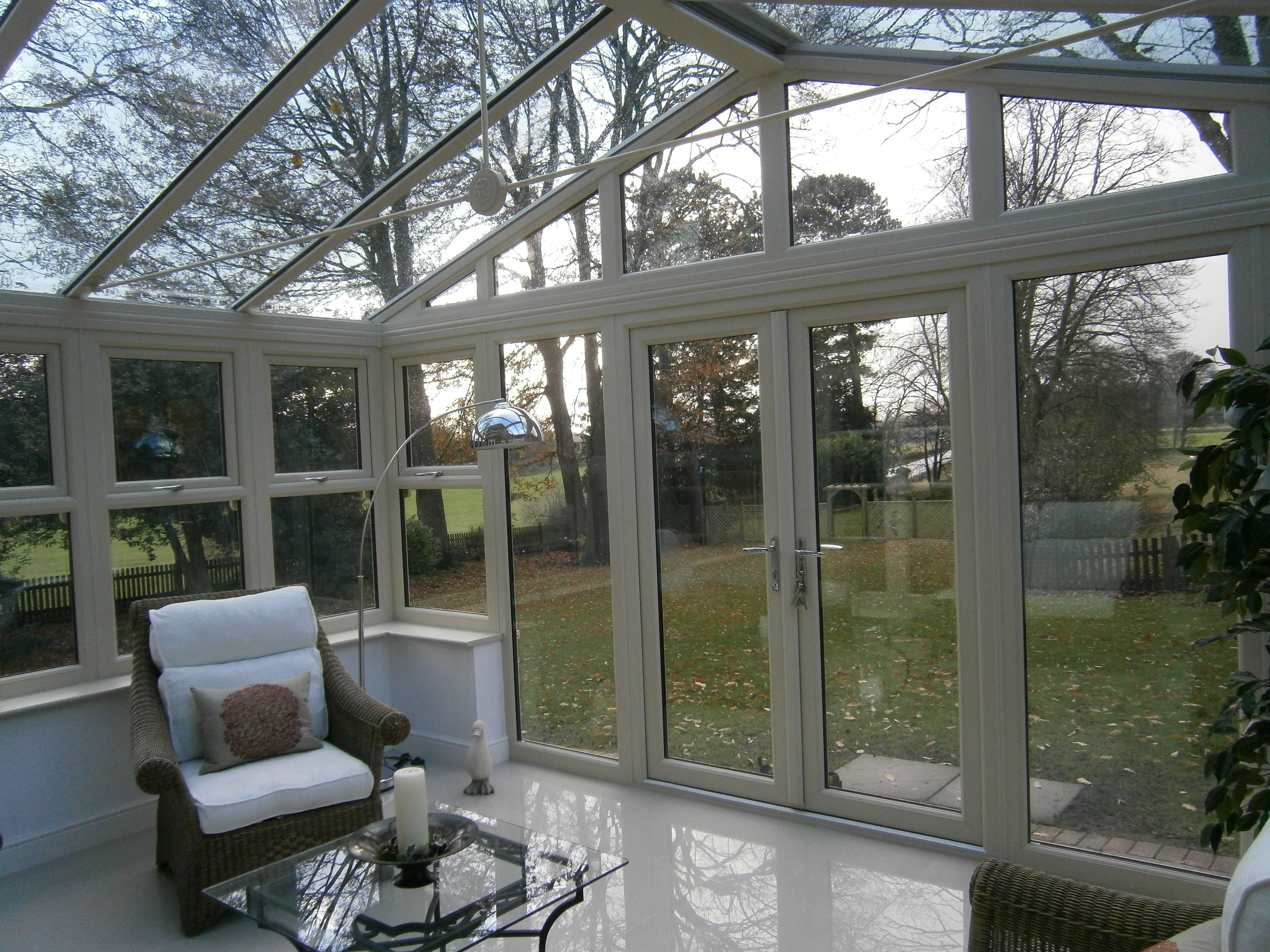 Thinking About A Conservatory Think About The Difference A Glass Roof Will Make Glass Roof Roofing Roof