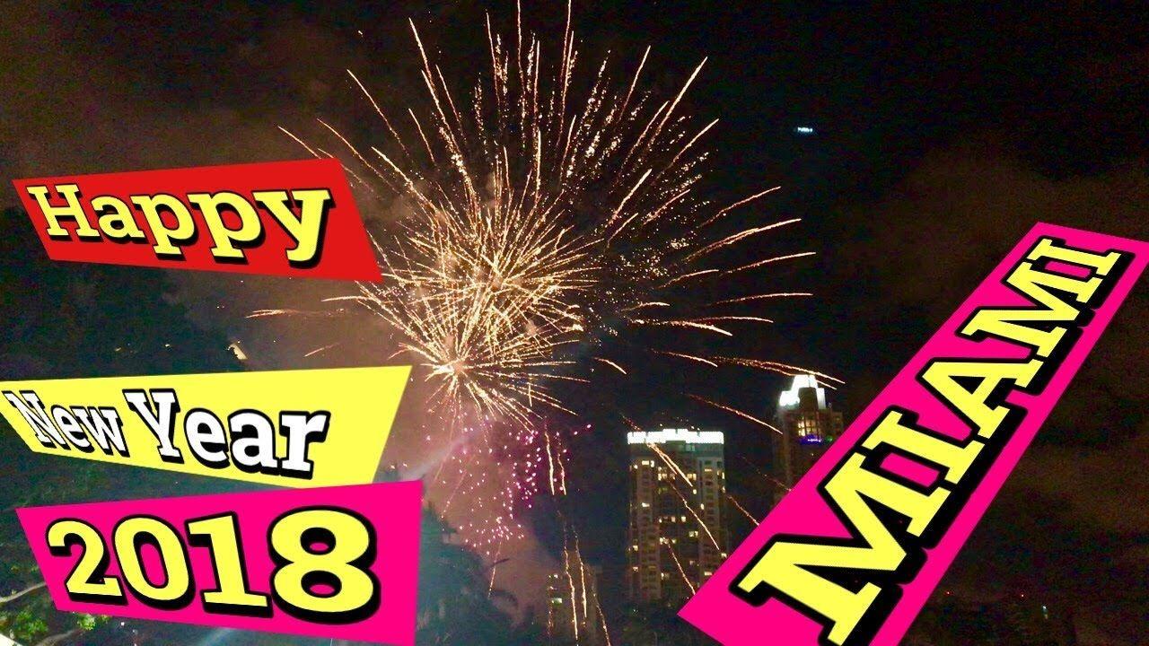 Fireworks 2018 Miami Florida Usa Miami Beach Florida Miami