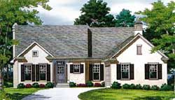 Traditional House Plan 3 Bedrooms 2 Bath 1911 Sq Ft Plan 106 151