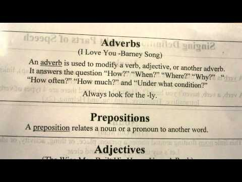 Pin By Tanya Pruett On Essentials Cc Classical Conversations Essentials Adverb Song Adverbs
