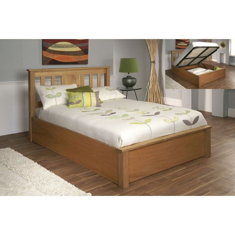 Limelight Terran Oak Ottoman Bed | Now for some serious decorating ...