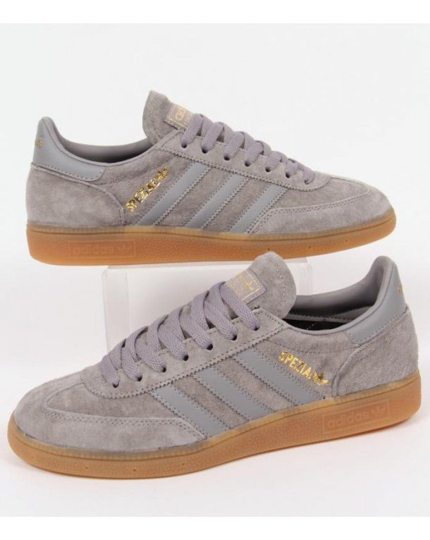 Adidas Spezial Trainers in Solid Grey with Solid Grey 3 stripes with gum  sole. We stock the latest and best range of Adidas Originals Spezial  trainers ...