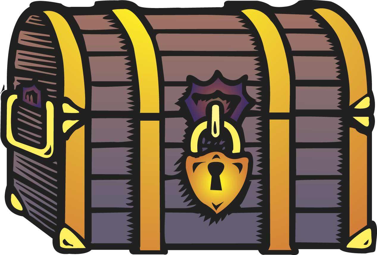 Cartoon Treasure Chest | MAGICIAN'S TRUNK