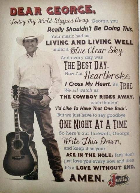 George Strait Love Quotes : george, strait, quotes, 🌻ℕℐℕᎯ, ℬℰᎯℕ🌻, Country, Lovin', George, Strait, Lyrics,, Music, Quotes,