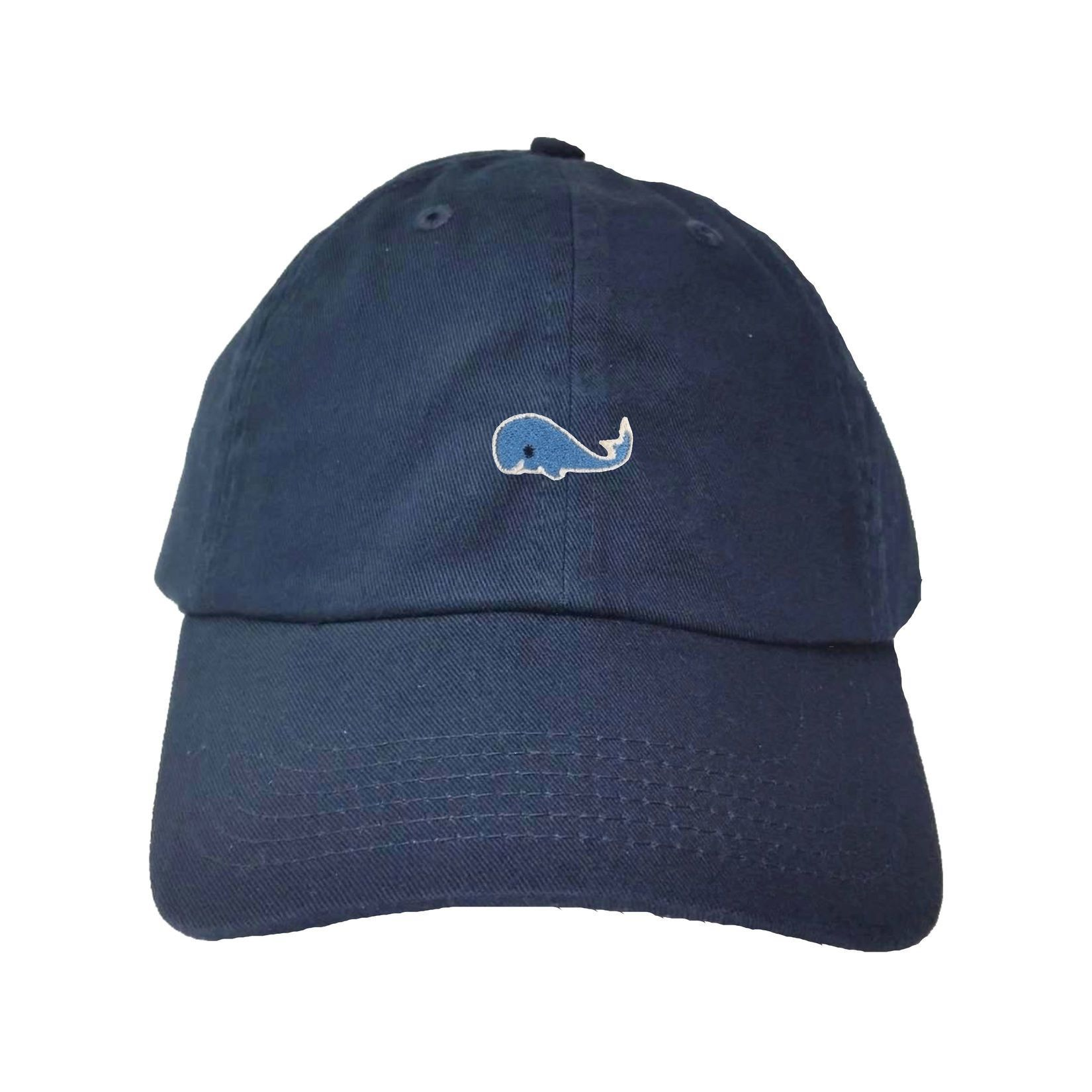 Adult Blue Whale Embroidered Dad Hat Cap Dad Hats Hats Embroidered