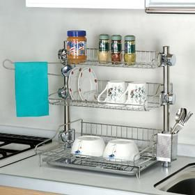 3 Tier Kitchen Dish Rack