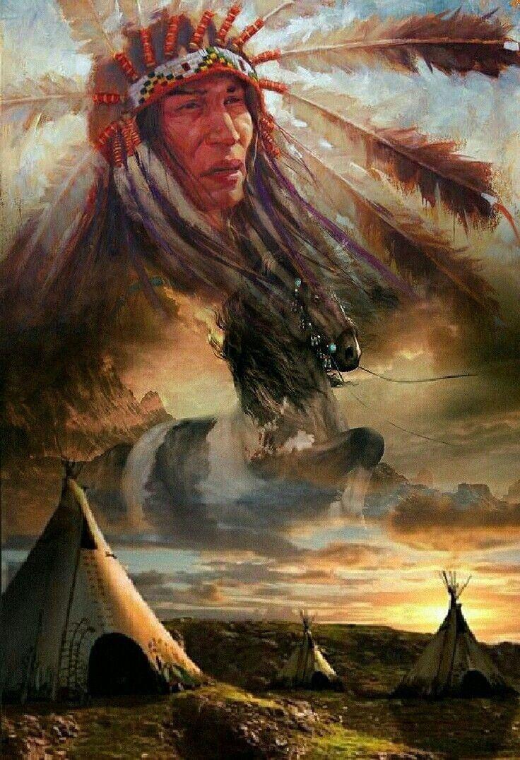 нижнему полю картинки с индейской тематикой хотели также