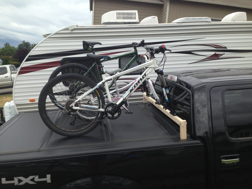 Above Bed Bike Racks Google Search Tonneau Cover Pickup Truck Bed Covers Bike Roof Rack