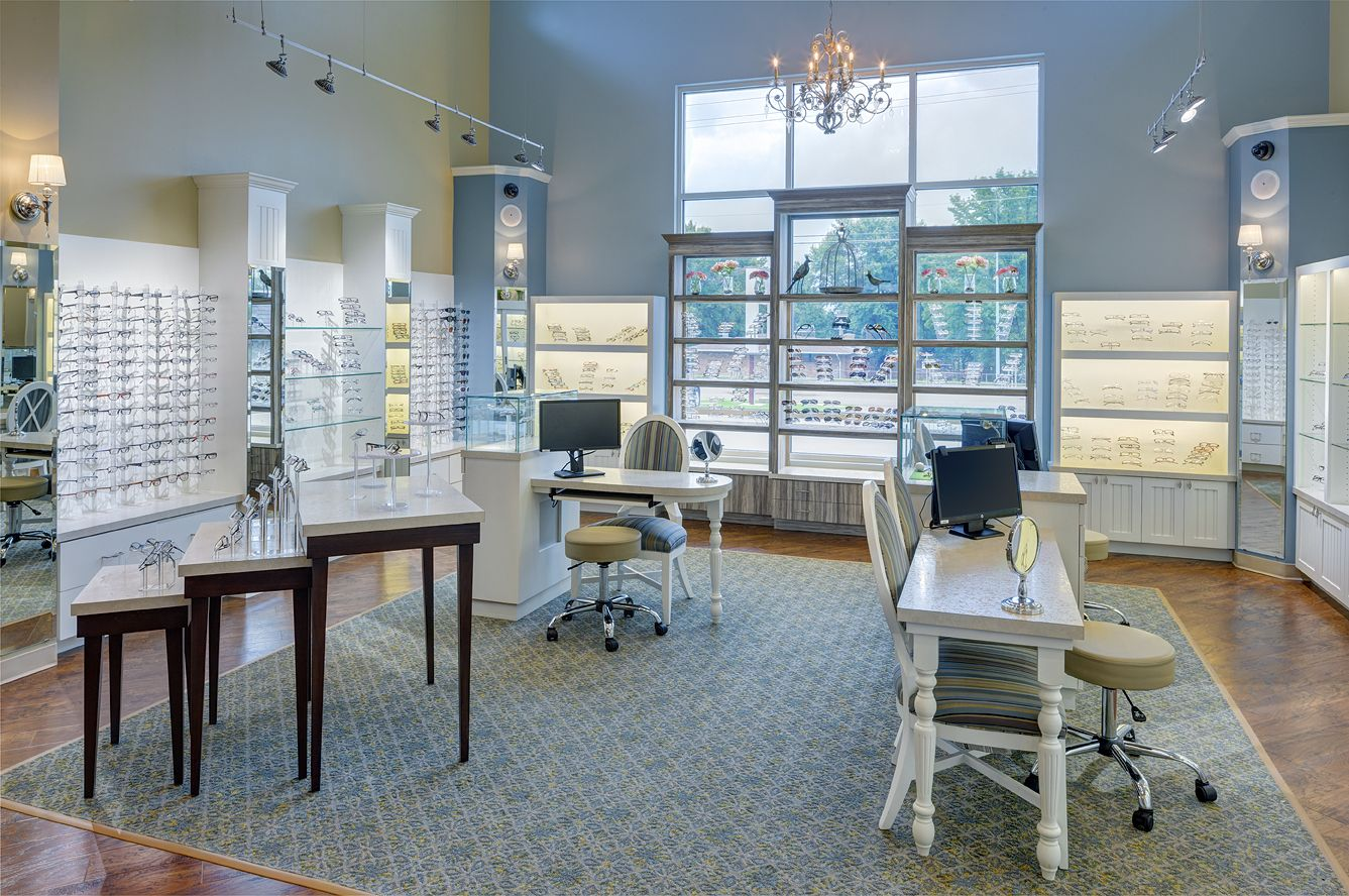 Bussey Eyecare Clinic | Optical Office Design | Barbara Wright ...