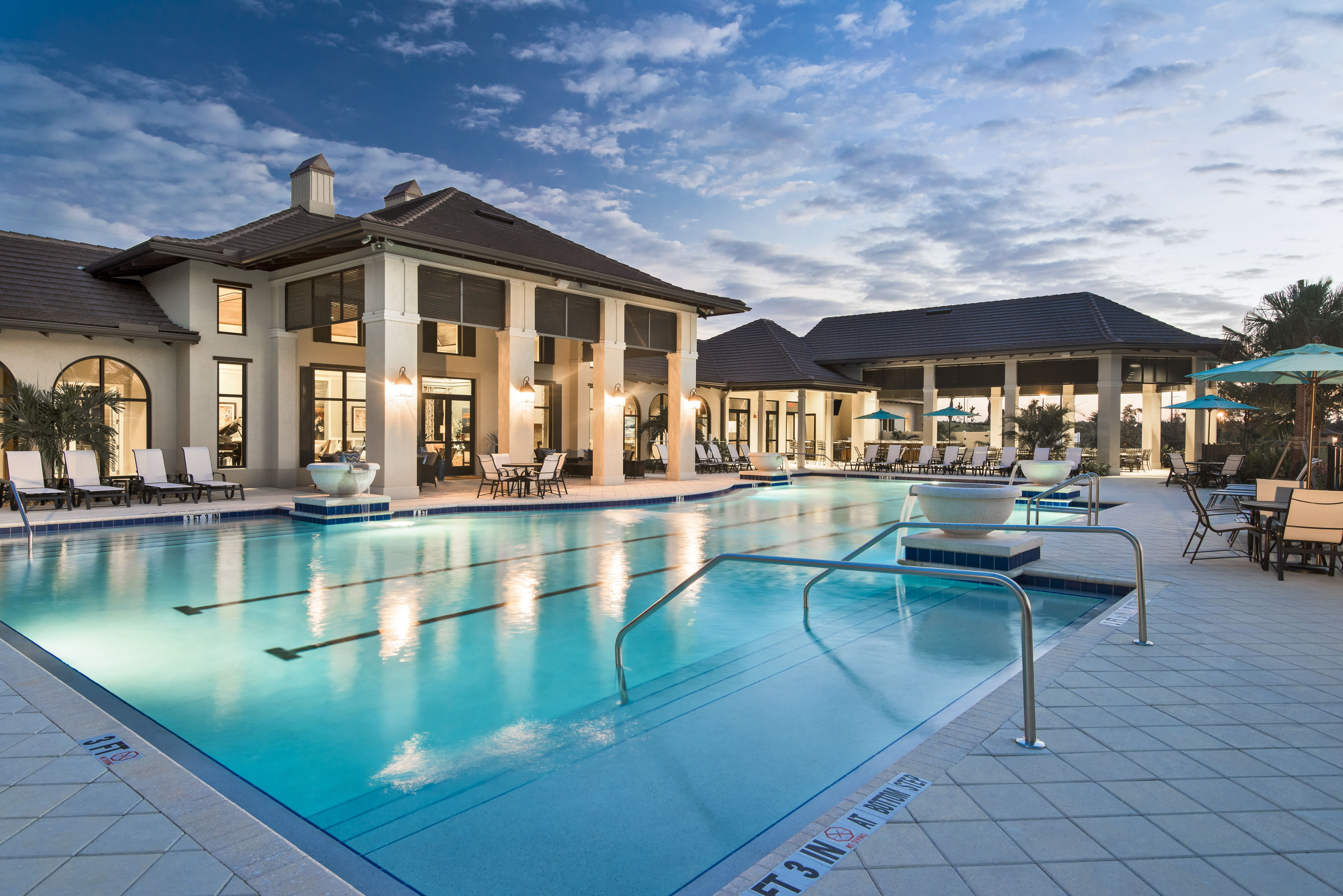 Lamorada S Spectacular Amenities Center Come See Why You Should Call Lamorada Home Today Lakefront Homes Naples Real Estate Estate Homes