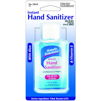 Handy Solutions Hand Sanitizer 72 Count Case Bulk Wholesale