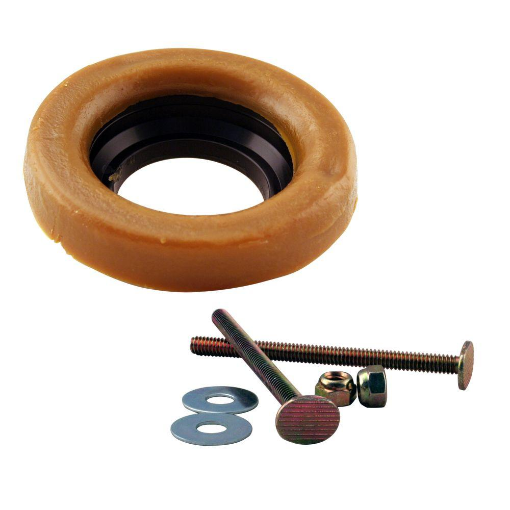 Wax Ring And Bolts For Toilet Bowl D6033 40 The Home Depot Wax Ring Toilet Ring Toilet Bowl