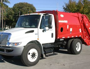 International New Way Rear Loader Garbage Truck For Sale Tw1140557cd Trucks For Sale Garbage Truck Trucks