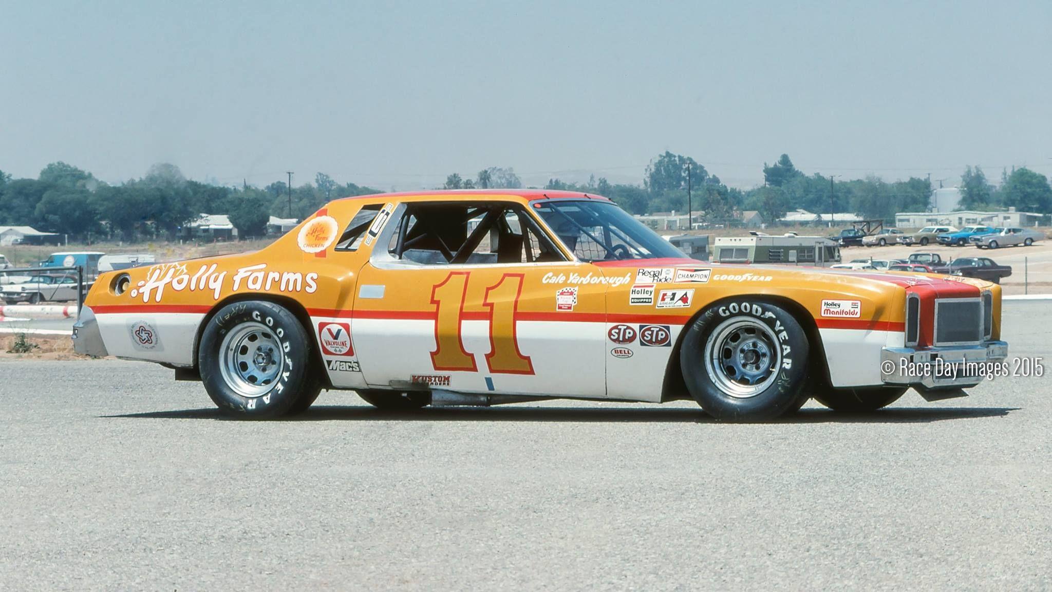 Cale Yarborough 1976 Monte Carlo Riverside Ca Nascar Race Cars