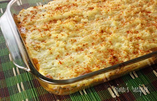 Shepard's Pie, Lightened Up...made this for dinner tonight and it is ...